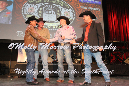 2012 NFR Nightly Awards