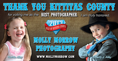 Molly Morrow Photography, Kittitas County Best Photographer