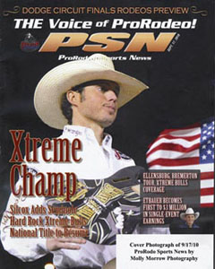 ProRodeo Sports New cover by Molly Morrow